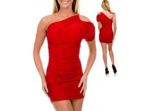 JFANY D USA dámské šaty červené