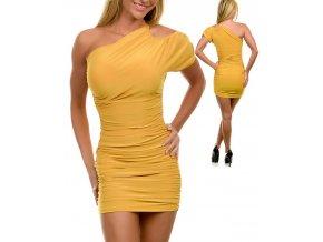JFANY D USA dámské šaty žluté