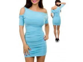JFANY D USA dámské šaty světle modré