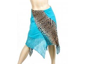 VIVA YOU U.S.A. dámská sukně tyrkysová