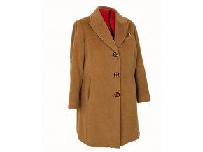 ELLEN TRACY dámský kabát velbloudí