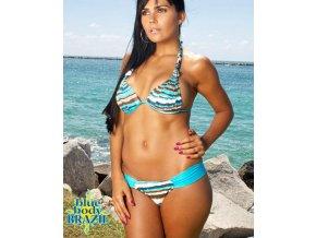Blue body Brazil dámské brazilské plavky tyrkysové