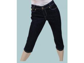 DERÉON dámské capri kalhoty riflové