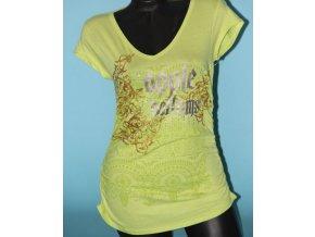 APPLE BOTTOMS dámské tričko žlutozelené
