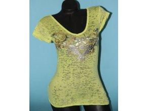 APPLE BOTTOMS dámské tričko neonové
