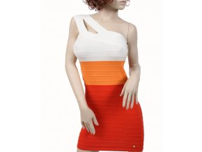 Apple Bottoms dámské šaty letní červenooranžové