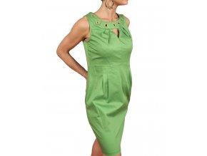 Studio AA dámské šaty zelené