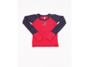 GERBER dětské tričko červenomodré s obrázkem
