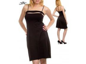 CG CALIFORNIA GROWN dámské šaty černé