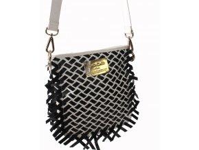 bebe dámská kabelka černobílá