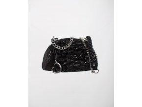 bebe dámská kabelka černá lesklá