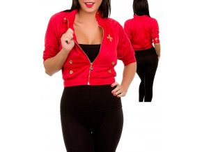 AMP dámský kabátek červený