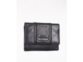 Calvin Klein pánská peněženka kožená černá