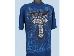 SOUTH POLE pánské tričko tmavě modré
