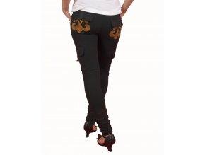 DERÉON dámské kalhoty černé