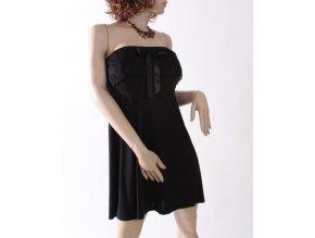 MINNIE ROSE dámské šaty černé s krajkou