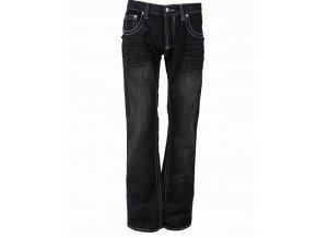 VICTORIOUS pánské džíny/rifle černé