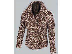 PINK SOUP dámská bunda leopard