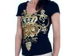 DERÉON dámské tričko černé