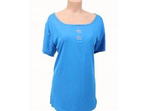 ROMAN FASHION dámské tričko modré
