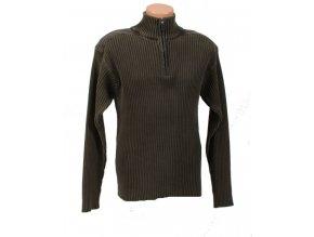 OSCAR DE LA RENTA pánský pletený svetr zelený