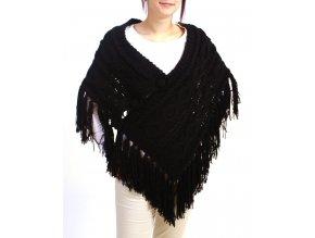 Yag couture dámský pléd černý