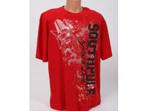 SOUTH POLE pánské tričko červené