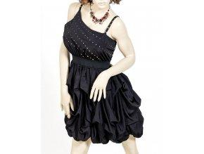 CAMILA CLOTHING dámské černé šaty se cvoky