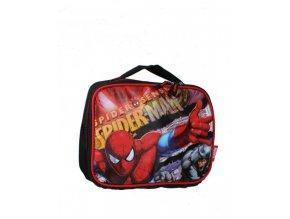 MARVEL dětský kufřík/batůžek s obrázkem Spider-mana černočervený