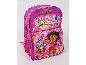 NICKELODEON Dora průzkumnice dětský/dívčí batoh růžový