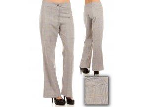 Tomorrow A F/S dámské kalhoty kárové šedé