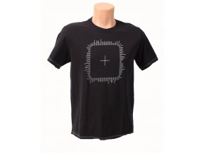DKNY pánské tričko černé s písmem