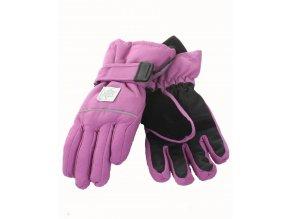 THINSULATE dívčí rukavice fialové