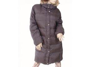 MICHAEL KORS dámská péřová dlouhá bunda šedá