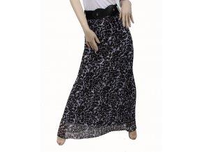 Marshmellow dámská sukně dlouhá šedočerná