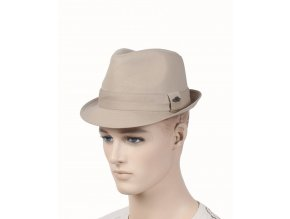PAMOA pánský béžový klobouk světlý
