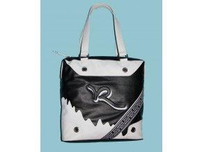 ROCAWEAR dámská kabelka černobílá