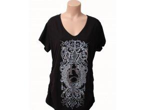 Rocawear dámské tričko černé s logem