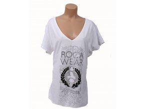 Rocawear dámské tričko bílé s logem