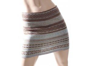 AB dámská sukně barevná se vzorem