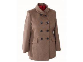 CALVIN KLEIN dámský kabát béžový