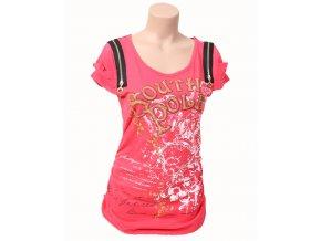 SOUTH POLE dámské tričko červené