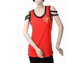 SOUTH POLE dámská halenka/tričko červené