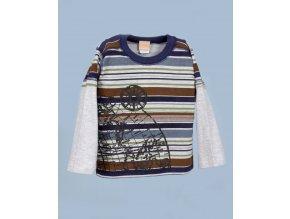 ARTISANSINC dětské chlapecké tričko s dlouhým rukávem