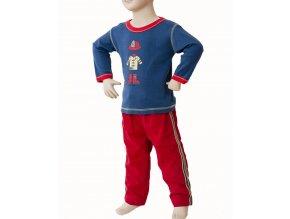 MIS TEE V-US dětská souprava, tričko s dlouhým rukávem s obrázkem, kalhoty