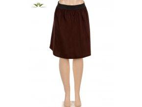DORI COLLECTION dámská sukně hnědá