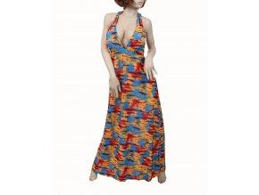 Apple Bottoms dámské letní barevné dlouhé šaty