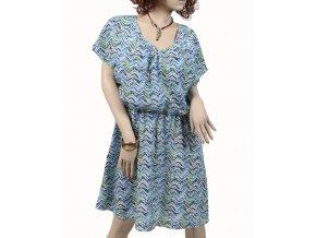 intriguing threads dámské šaty modré