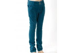 CHEROKEE dětské manšestrové kalhoty tyrkysové