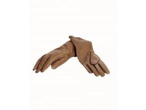 FOWNES dámské rukavice kožené olivově zelené